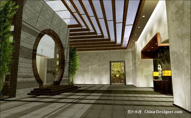 2004年作品――空中豪宅内庭园-张静的设计师家园-豪宅庭园