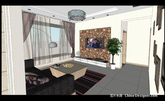 05_客厅 _缩小大小-廖海的设计师家园-现代
