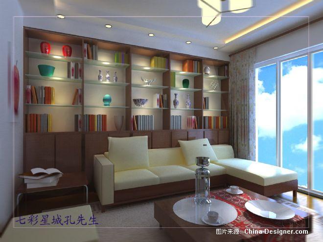 孔先生客厅书柜-陆锦平的设计师家园-沉稳,新古典