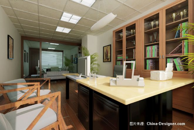 经理办公室-管月亮的设计师家园-200万以上,办公室