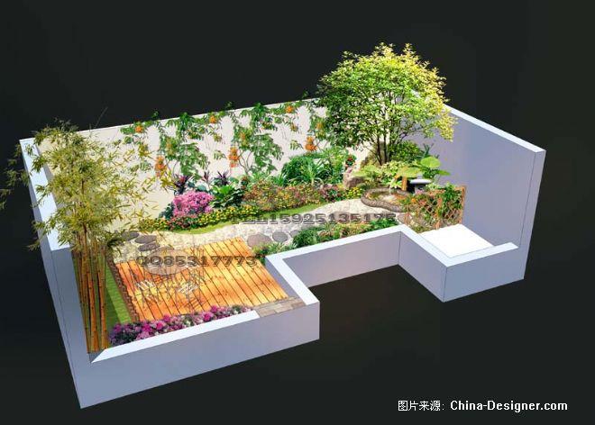 30平米小院子-张成的设计师家园-1-5万