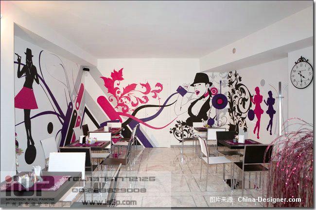 广州印象墙绘—酒吧ktv (10)-广州印象墙绘工程公司的设计师家园-广州