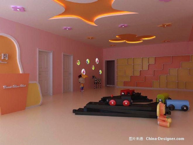 幼儿园大厅1-张逸的设计师家园-现代
