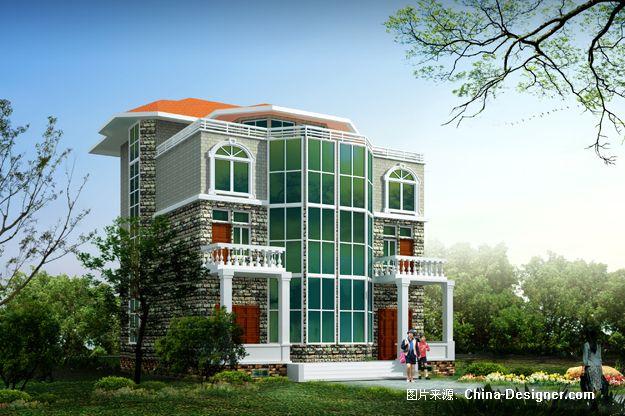 效果图-皇甫双飞的设计师家园-农房,私宅,图纸,设计,别墅