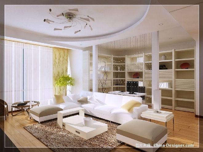 沙发线帘背景-简艺室内设计工作室的设计师家园-沙发线帘背景