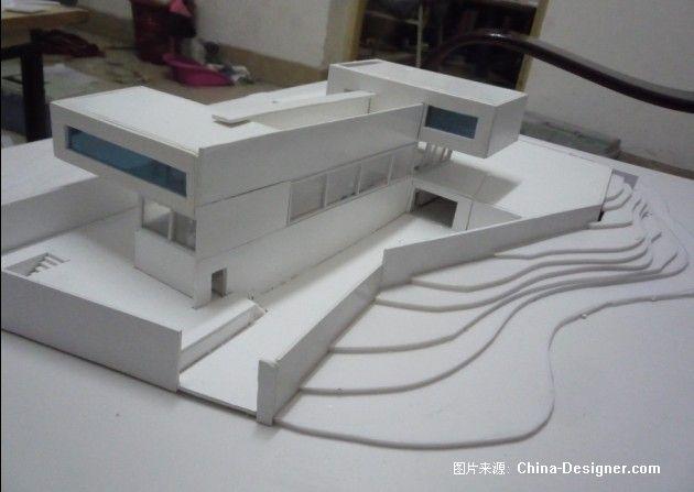 达尔雅瓦别墅模型制作-秦树本的设计师家园-20-30万,别墅,白色,现代