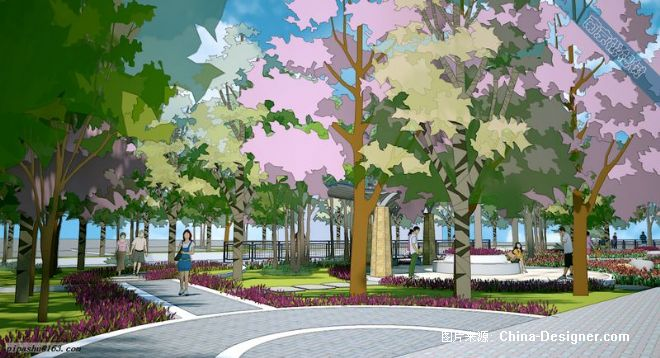 8-枇杷树的设计师家园-街头河道绿地5
