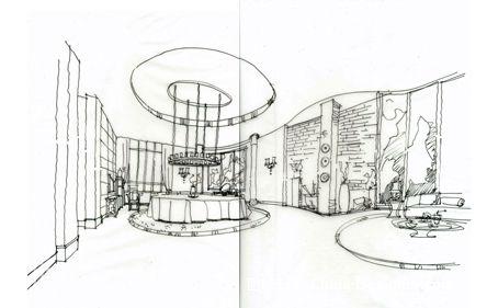 透视图2222222222-季东旭的设计师家园-手绘透视