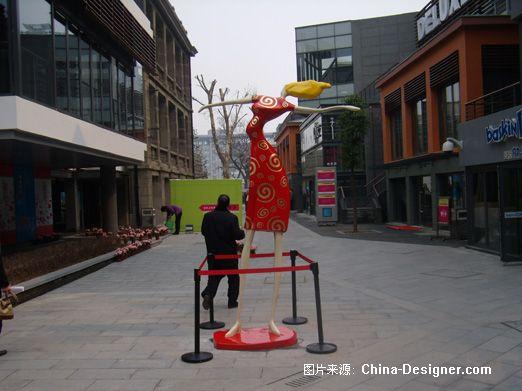 武汉新天地雕塑1-南京俞科雕塑工作室的设计师家园-现代,新古典