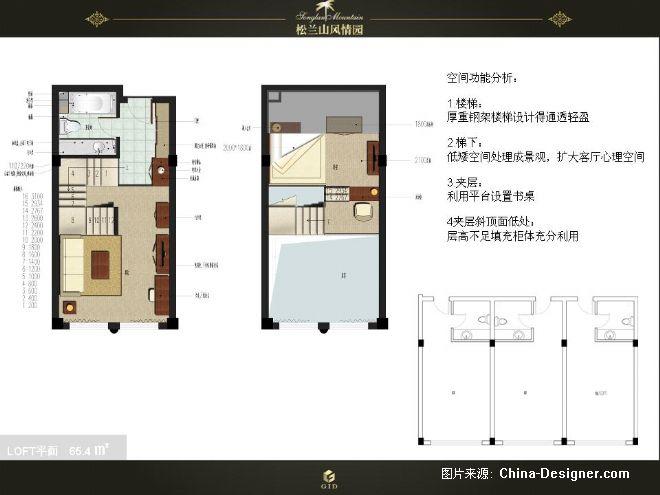 loft平面布置图-雷陈军的设计师家园-黄色,欧式图片