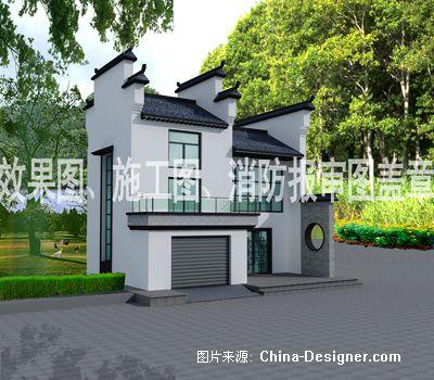 安微派建筑效果图-郭海明的设计师家园-现代