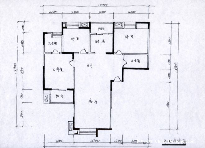原始平面-瓦蓝室内设计工作室的设计师搓板-新古典家园自动上料机设计图图片
