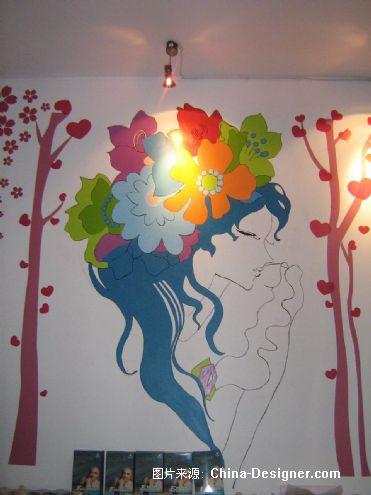 糖彩皇手绘壁画的设计师家园