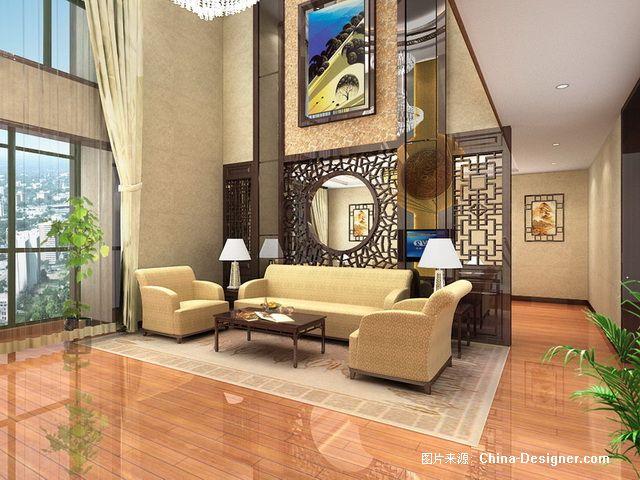 二层沙发景观-王鑫的设计师副本-水晶灯,餐厅,客厅墙,背景,家园背景手绘v二层快水吧题图片