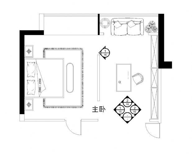 平面图-刘海强的设计师家园-平面