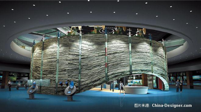 大庆石油科技博物馆2-北京清尚建筑装饰工程有限公司的设计师家园-200万以上