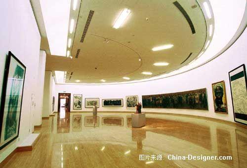 中国美术馆圆形展厅-北京清尚建筑装饰工程有限公司的设计师家园-200万以上