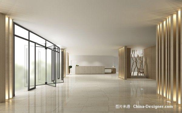 3 1号楼门厅-刘红蕾的设计师家园-白色,旧房改造,现代