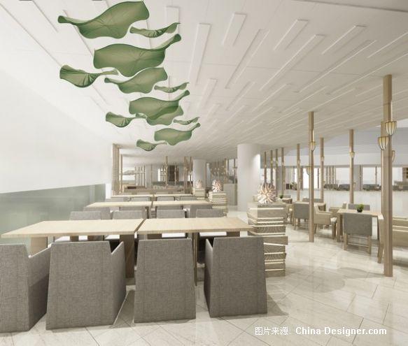 4西餐厅-刘红蕾的设计师家园-餐厅,白色,旧房改造,现代