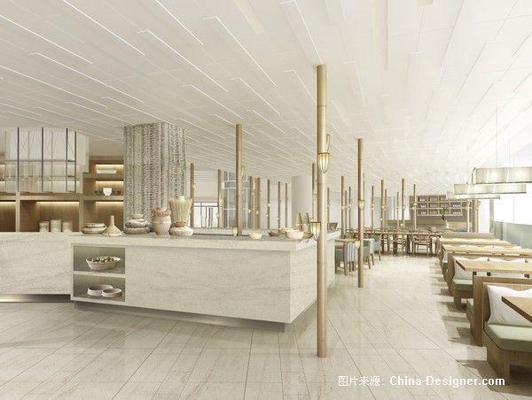 5西餐厅2-刘红蕾的设计师家园-餐厅,白色,旧房改造,现代