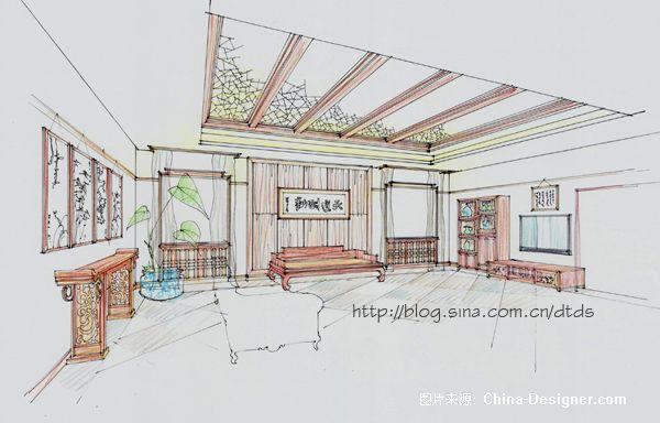 福山寿海四合院会客-陈大为的设计师家园-客厅,四合院,中式
