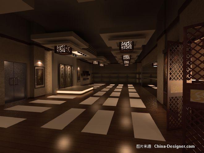 浩沙瑜伽房1-吴鸿阳的设计师家园-中式图片