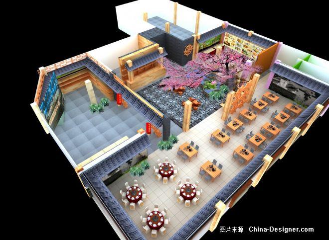 中式酒店223-马鸿敬的设计师家园-中式