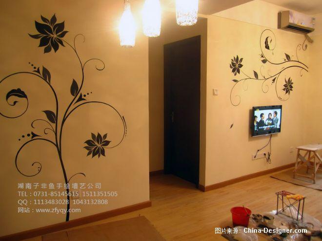 长沙墙绘,长沙电视背景墙绘,长沙沙发背景墙绘,通道墙绘,卧房墙绘,有