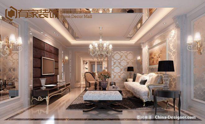 有家装饰-东方名城1-福州有家装饰工程有限公司的设计师家园-客厅