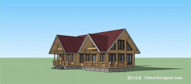 木屋轻钢别墅建筑设计师