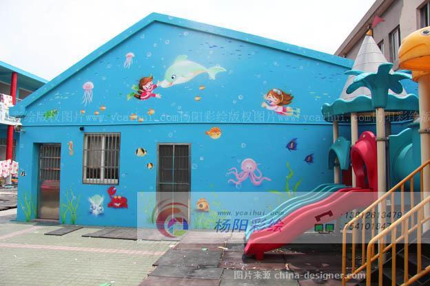 苏州幼儿园手绘墙,幼儿园卡通壁画,苏州外墙喷绘-苏州手绘墙的设计师