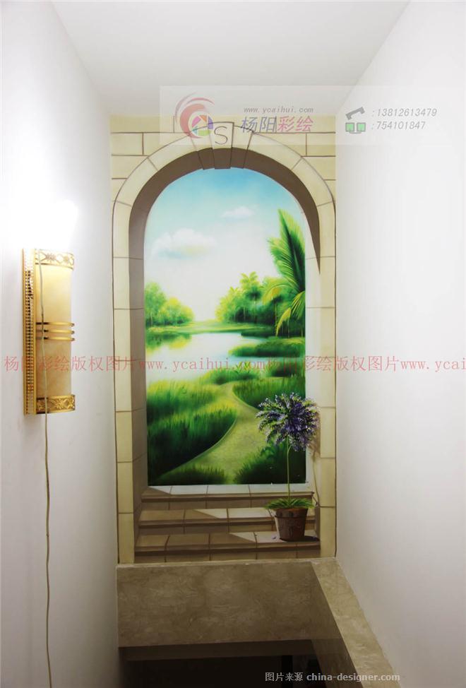 3d壁畫-家庭風景壁畫-蘇州手繪墻的設計師家園-465977