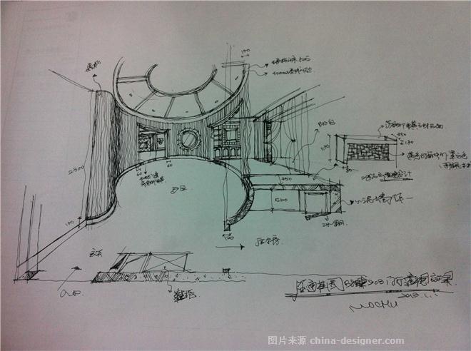 餐厅透视图-杨建平的设计师家园-1522,30,2163