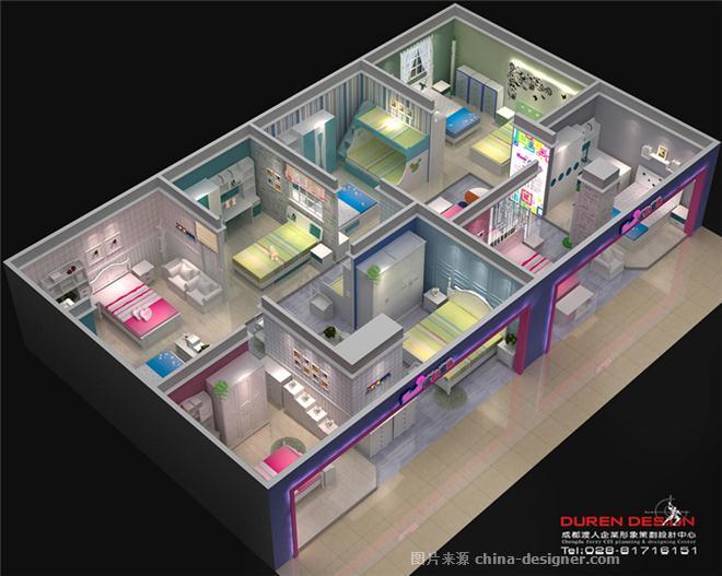 儿童家具展厅-张建的设计师家园-23