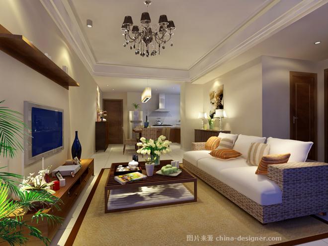 琼海万泉明月庄样板间-许洪的设计师家园-254692
