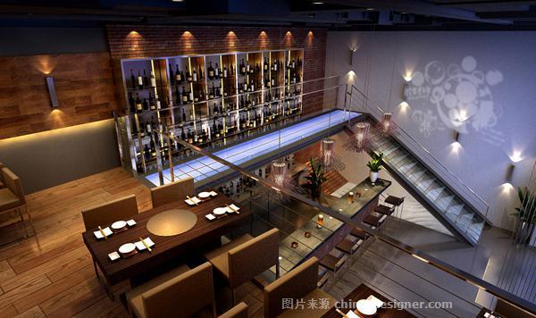 义气烤肉餐吧二-北京融道鼎城国际装饰工程有限公司的设计师家园-473268
