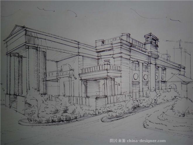 手绘线稿-马冰莲的设计师家园-479524