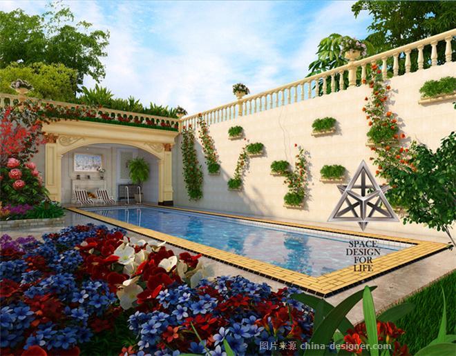 别墅泳池-张兆勇的设计师家园-486248