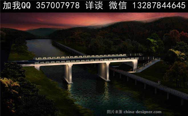 市政桥梁设计案例效果图-室内设计师93的设计师家园-704532