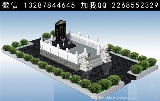 墓地设计案例效果图-室内设计师93的设计师家园-708980图片